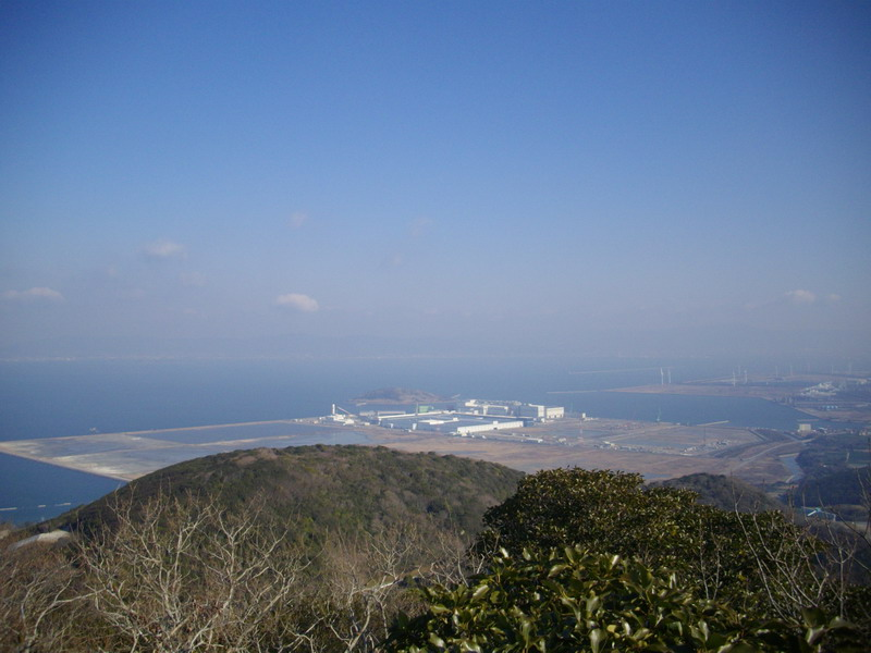 姫島と三河湾
