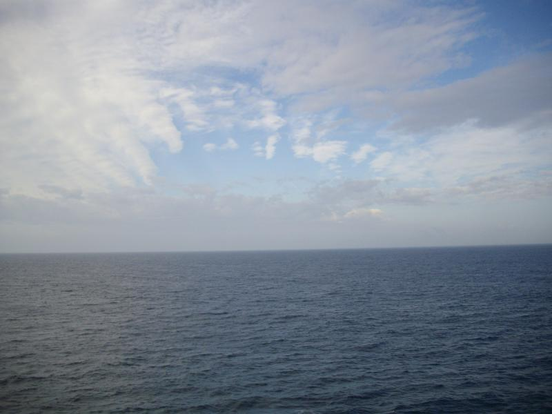 見渡す限りの太平洋