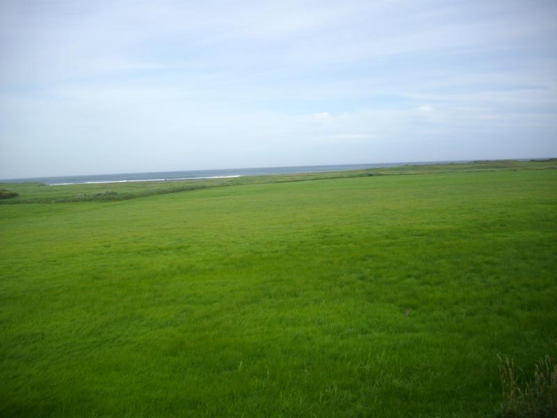 海と草原の百人浜