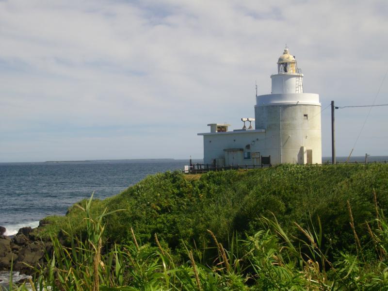 納沙布の灯台
