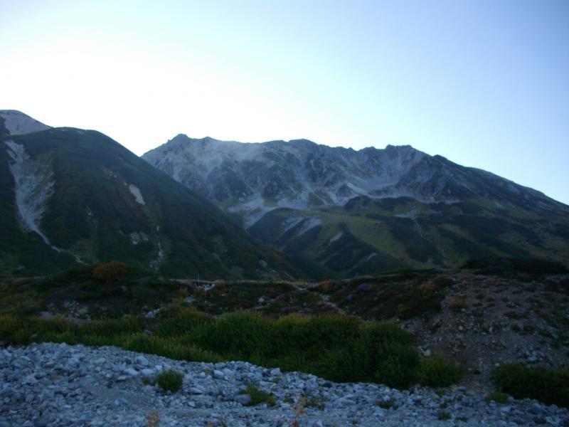 朝焼けの立山