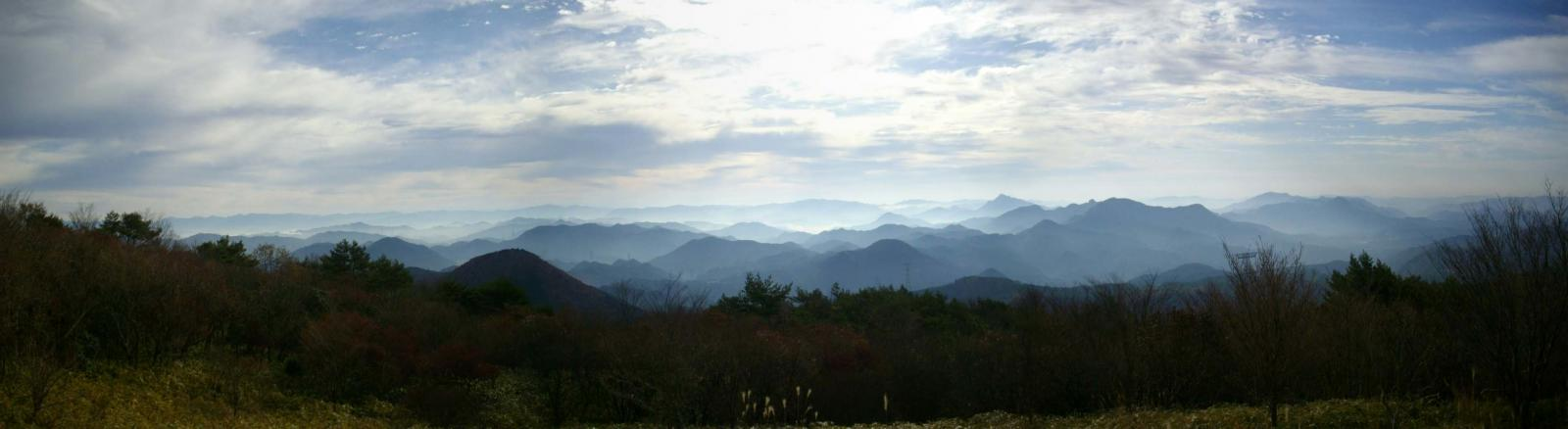 富士見の眺望