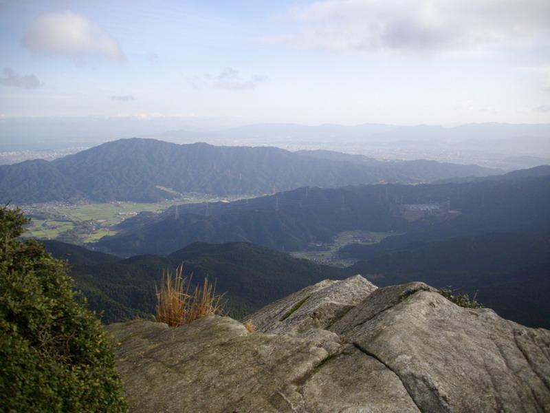 鬼ヶ鼻岩からの景色