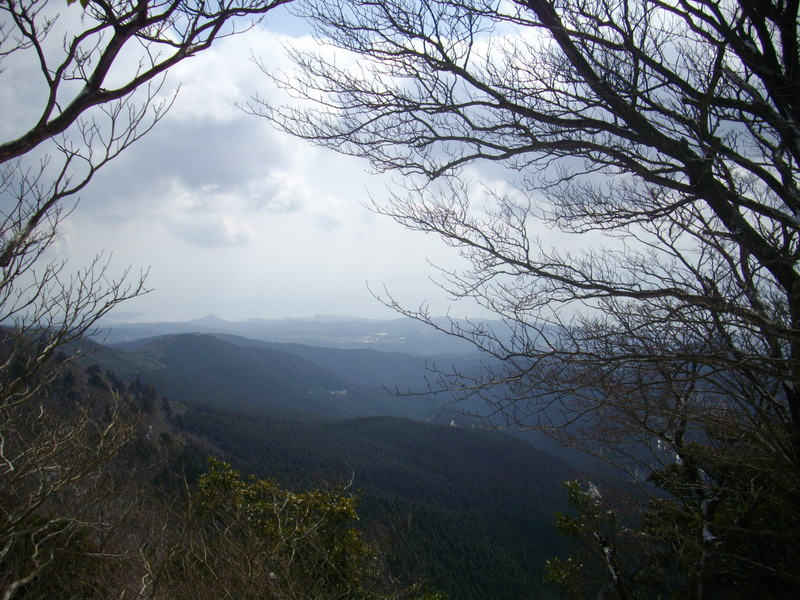 多良岳山頂景色