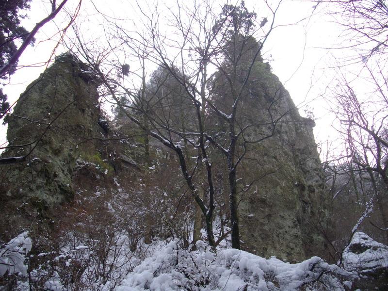 英彦山の奇岩
