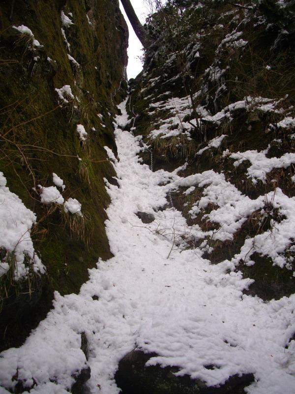 望雲台への道