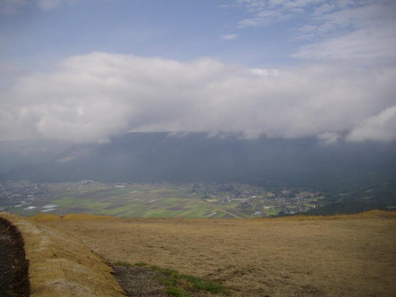 大観峰の景色西
