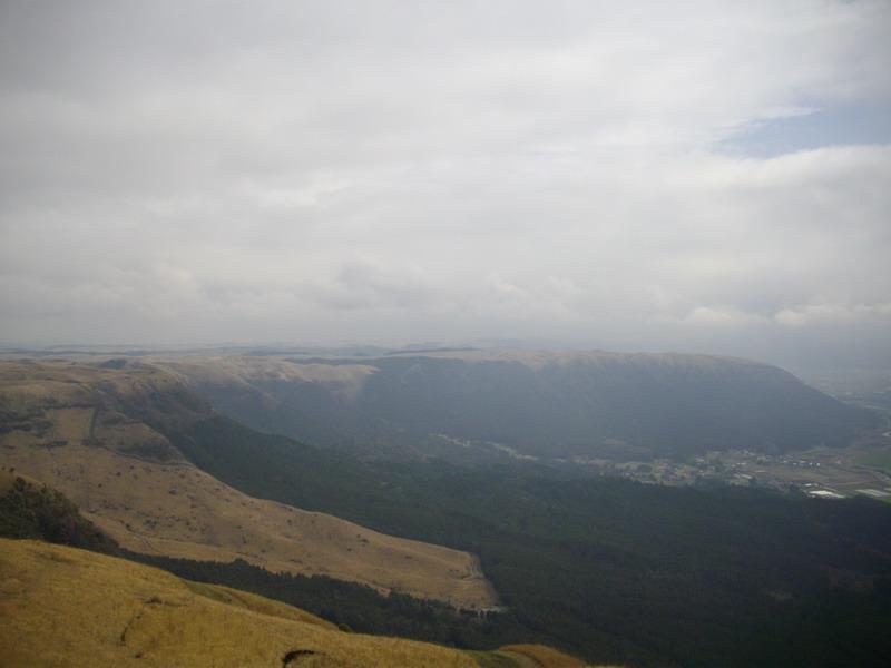 大観峰の景色東