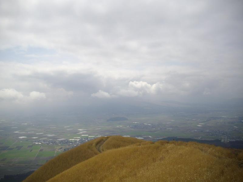 大観峰からの阿蘇山