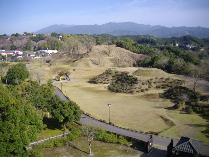 石野公園展望台からの景色