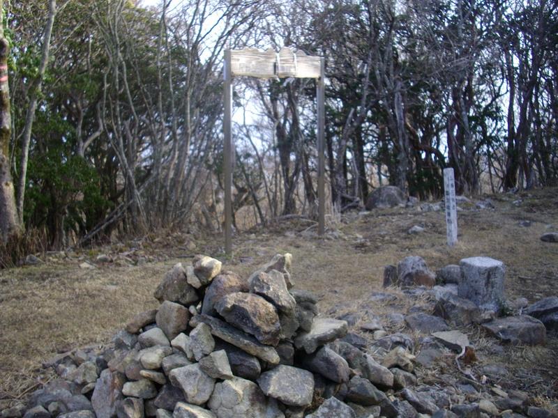 尾鈴山山頂