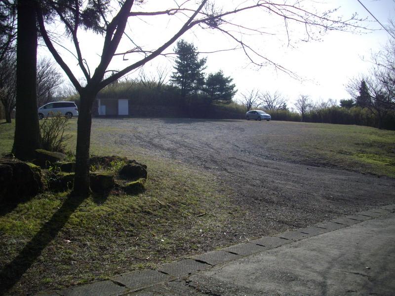 鶴見岳登山口駐車場