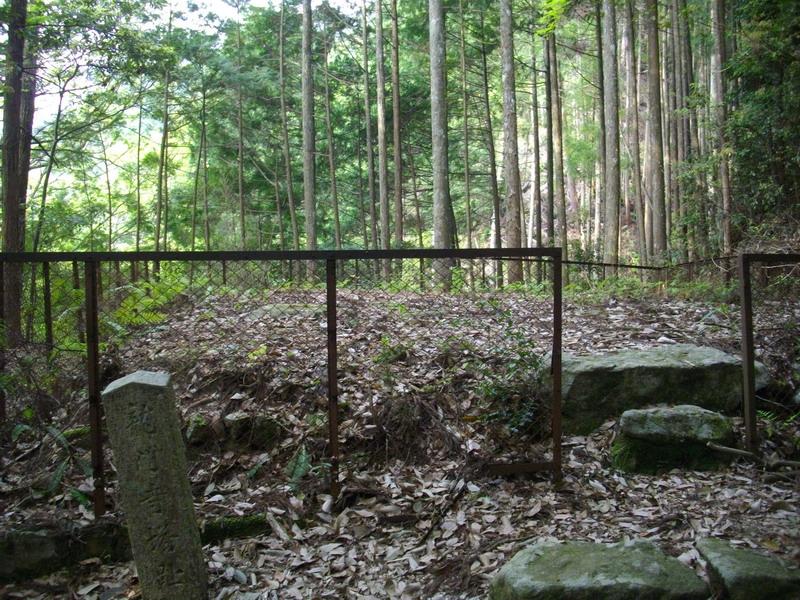 竜門の寺の跡