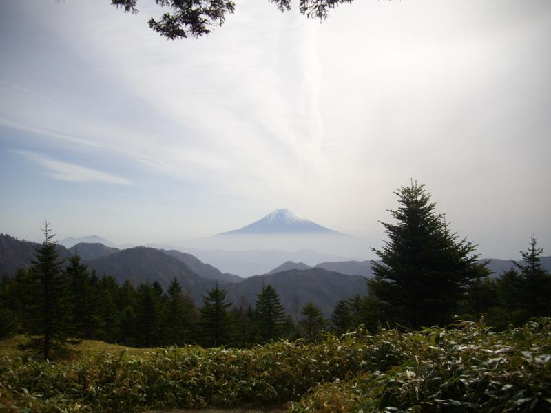 富士山がものすごく綺麗に見える