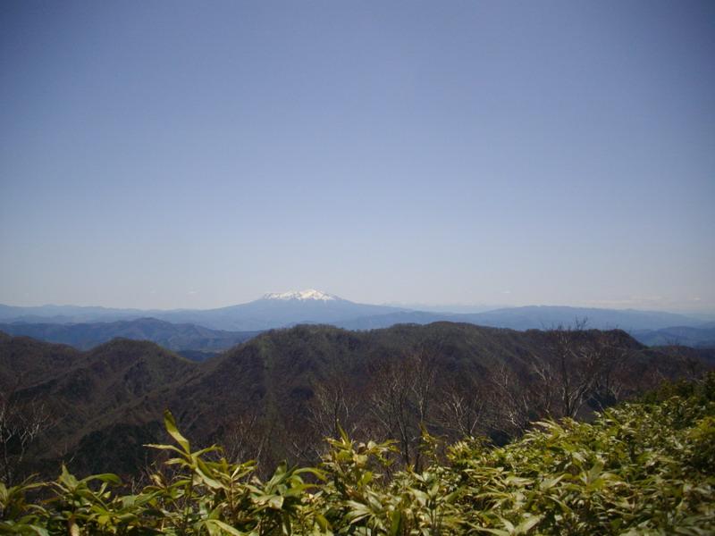 御嶽山と中央アルプスを遠望