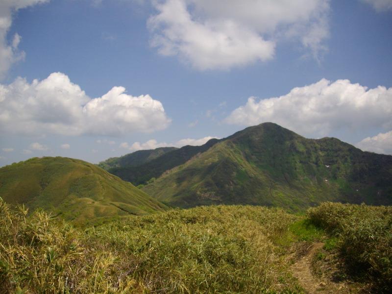 沢氏ヶ岳から山頂