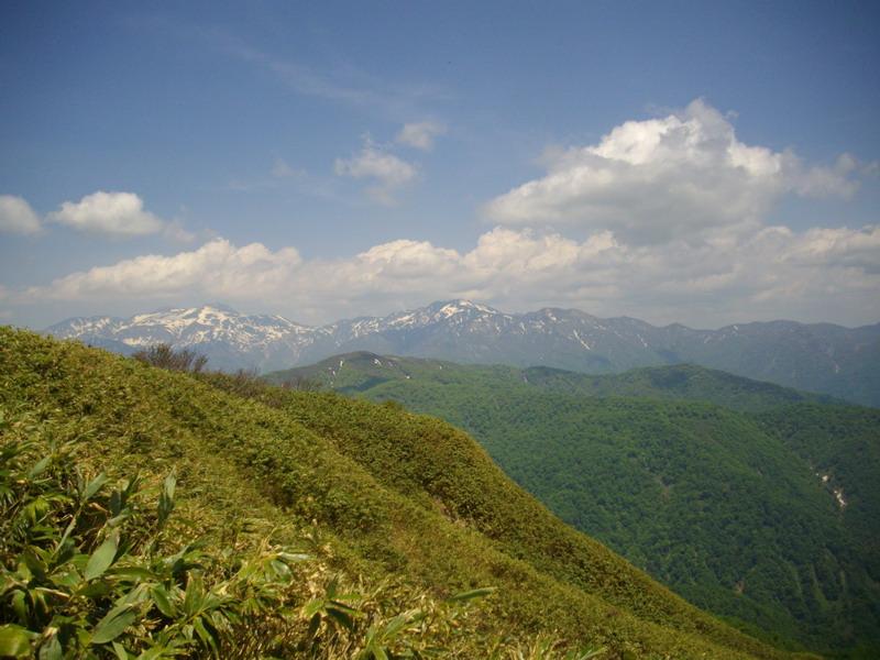 経ヶ岳からの白山