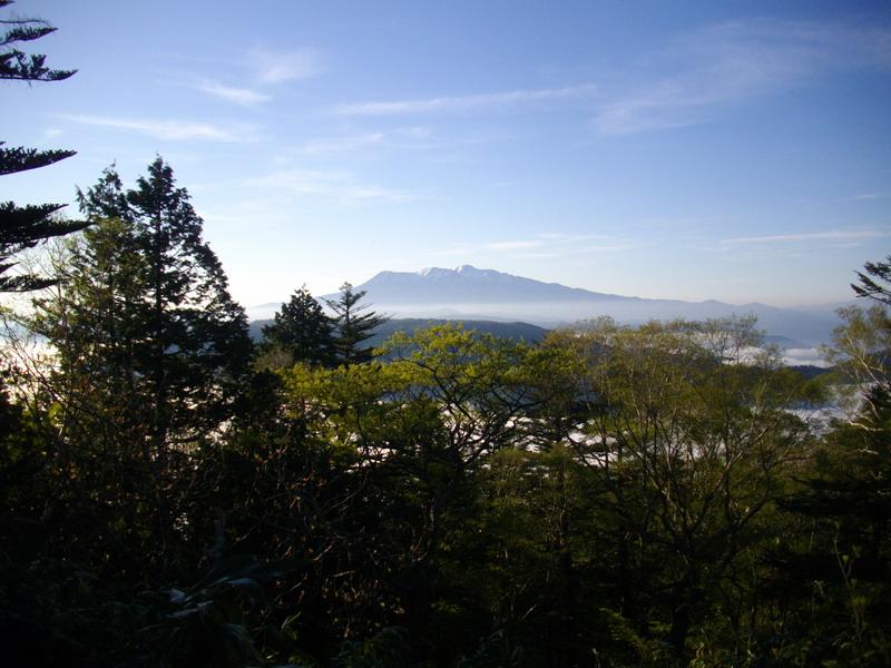 位山山頂エリアからの御嶽