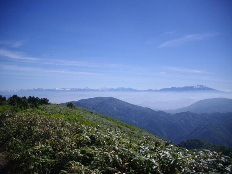 川上岳北アルプス方面