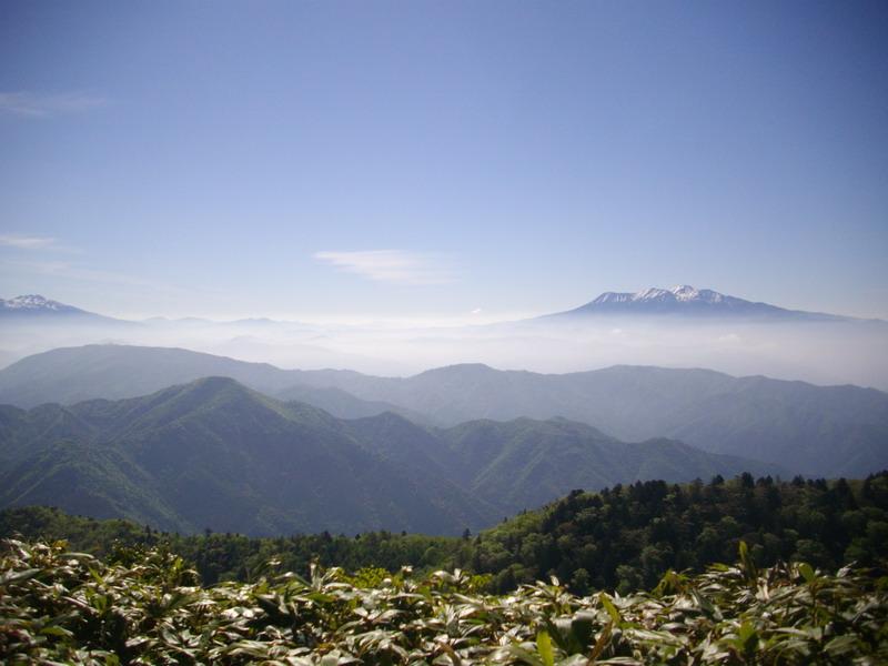 川上岳御嶽方面